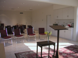 Retreat Center meeting room